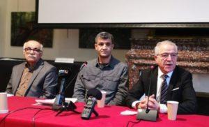 Conférence de presse sur utilisation d'armes interdites par Turquie Roja Sor