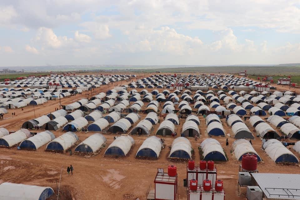 Camp de réfugiés kurdes au Rojava, Kurdistan syrien, Association humanitaire Soleil Rouge Roja Sor